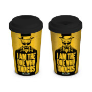 Breaking Bad I Am The One Who Knocks Travel Mug