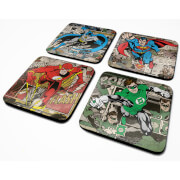 DC Comics Burst Coaster Set