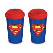 DC Comics Superman Travel Mug