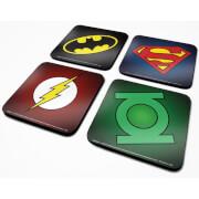 DC Comics Symbols Coaster Set