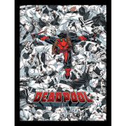 Marvel Deadpool Bodies Framed 30 x 40cm Print