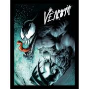 Marvel Extreme Venom Framed 30 x 40cm Print