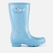 Hunter Kids' Original Glitter Finish Wellies - Blue Sky