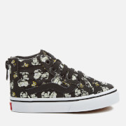 Vans X Peanuts Toddler's SK8-Hi Zip Trainers - Glow Mummies/Black