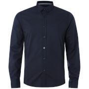 Brave Soul Men's Tudor Shirt - Dark Navy