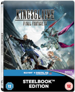 Kingsglaive: Final Fantasy XV - Zavvi UK Exklusives Limited Edition Steelbook (Inklusive DVD Version) (Nur 500 Auflagen)