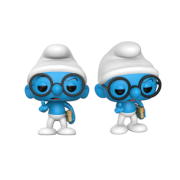 The Smurfs Brainy Smurf Pop! Vinyl Figure