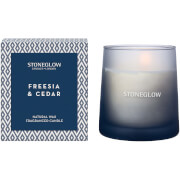 Stoneglow Geometric Collection Freesia and Cedar Tumbler