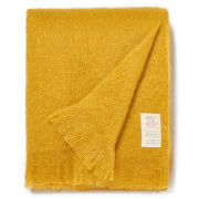 Avoca Mohair Throw - Amber - 142 x 183cm