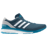 adidas Men's adizero Boston 6 Running Shoes - Blue/Grey