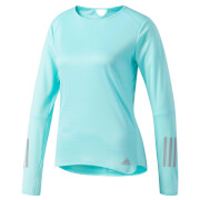 adidas Women's Response Long Sleeved Running Top - Blue