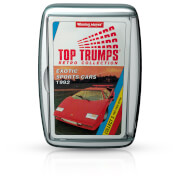 Retro Top Trumps - Exotic Sports Cars