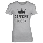 Caffeine Queen Women's Grey T-Shirt