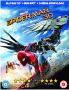 Spider man homecoming 3d includes 2d version