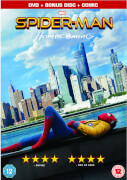 Spider man homecoming two disc limited edition comic book