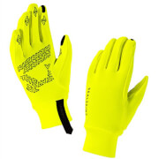 Sealskinz Stretch Fleece Nano Gloves - Yellow