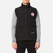 Canada Goose Men's Freestyle Crew Vest - Black - L - Black