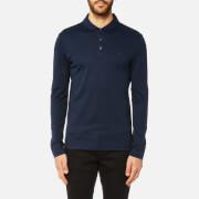 Michael Kors Men's Liquid Jersey Long Sleeve Polo Shirt - Midnight
