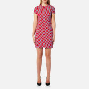 Versus Versace Women's Cap Sleeve Printed Dress - Multi - IT 40/UK 8 - Multi