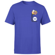 Nintendo Super Mario Wario Pocket Men's Purple T-Shirt
