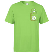 Nintendo Super Mario Yoshi Pocket Men's Green T-Shirt