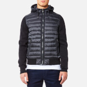 Tommy Hilfiger Men's Naz Knit Down Bomber Jacket - Asphalt