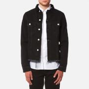 Officine Générale Men's Clint Japanese Denim Jacket - Black - XL - Black
