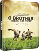 O Brother, Where Art Thou? Eine Mississippi-Odyssee - Zavvi UK Exklusives Limited Edition Steelbook