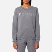 Tommy Hilfiger Women's Heavy Weight Tommy Knitted Sweatshirt - Mid Grey Heather