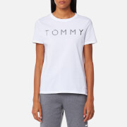 Tommy Hilfiger Women's Tommy Print T-Shirt - Classic White