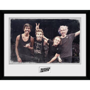 5 Seconds of Summer Live Pose - 16 x 12 Inches Framed Photograph
