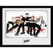5 Seconds of Summer Live Sofa - 16 x 12 Inches Framed Photograph