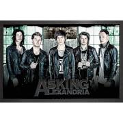 Asking Alexandria Window - 61 x 91.5cm Framed Maxi Poster