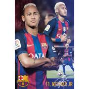 Barcelona Neymar Collage - 61 x 91.5cm Maxi Poster