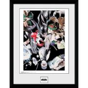 Batman Villians - 16 x 12 Inches Framed Photograph