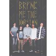 Bring Me the Horizon Group Black - 61 x 91.5cm Maxi Poster