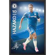 Chelsea Hazard 15/16 - 61 x 91.5cm Framed Maxi Poster