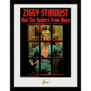 David Bowie Ziggy Stardust - 16 x 12 Inches Framed Photograph