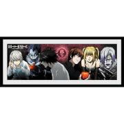 Death Note Characters - 30 x 12 Inches Framed Photograph