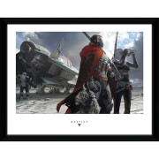 Destiny Guardians - 16 x 12 Inches Framed Photograph
