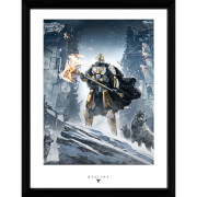 Destiny Rise of Iron - 16 x 12 Inches Framed Photograph