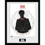Doctor Who Spacetime Tour 11th Doctor - 16 x 12 Inches Framed Photograph
