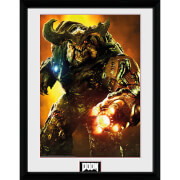 Doom Cyber Demon - 16 x 12 Inches Framed Photograph