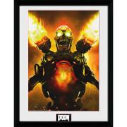 Doom Key Art - 16 x 12 Inches Framed Photograph
