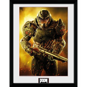 Doom Marine - 16 x 12 Inches Framed Photograph