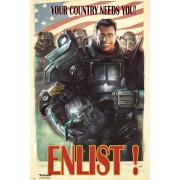 Fallout 4 Enlist - 61 x 91.5cm Maxi Poster