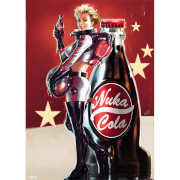 Fallout 4 Nuka Cola - 100 x 140cm Giant Poster