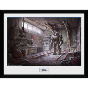 Fallout 4 Red Rocket Interior - 16 x 12 Inches Framed Photograph