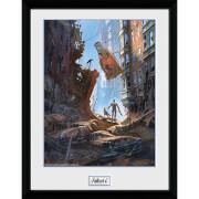 Fallout 4 Street Scene - 16 x 12 Inches Framed Photograph