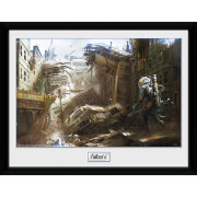 Fallout 4 Vertical Slice - 16 x 12 Inches Framed Photograph
